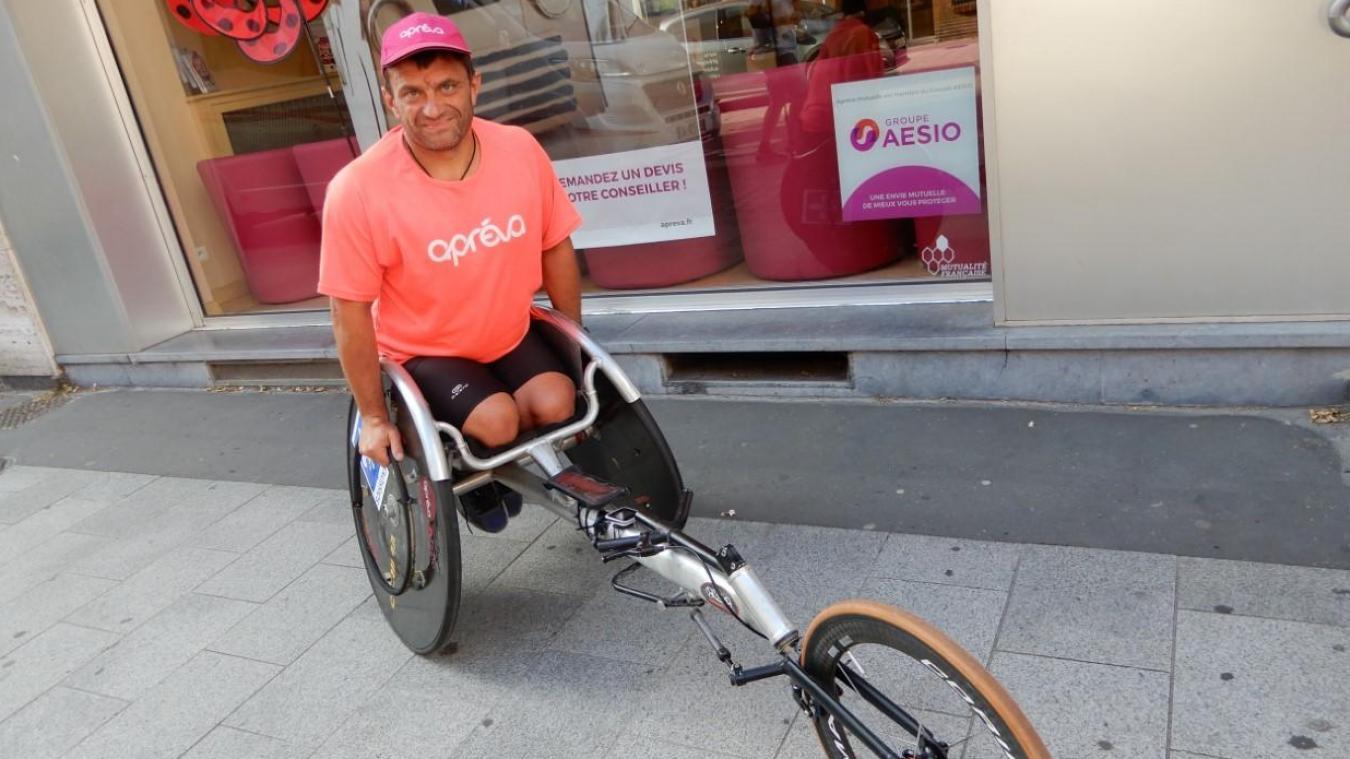 David Avram effectue un tour de Hauts-de-France, soit 670 km au total pour 13 étapes.