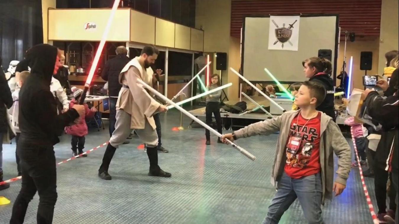 En 2017, l'initiation aux combats au sabre laser avait beaucoup plu aux jeunes fans de la saga Star Wars. Elle sera reconduite.
