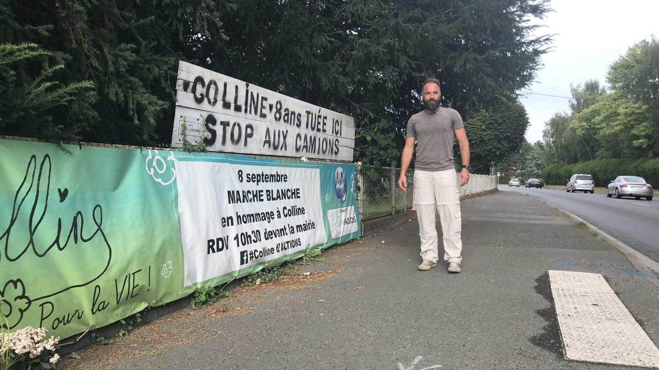 David Bouche organise avec le collectif Colline d'actions une marche blanche pour se souvenir de sa fille. Le cortège démarre de la mairie de Renescure pour se rendre 700 mètres plus loin, sur les lieux du drame.