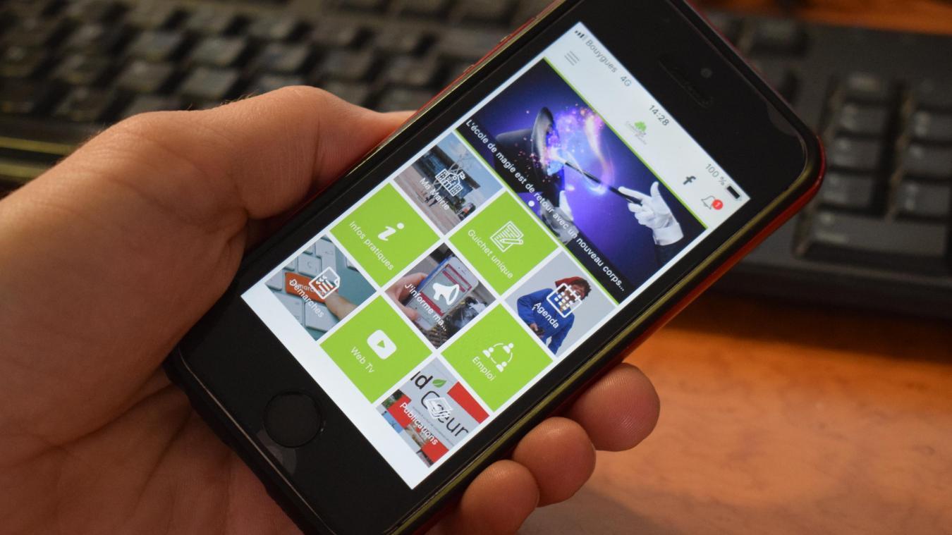 L'application Coudekerque-Branche est disponible sur les stores Android et IOS depuis quelques jours.