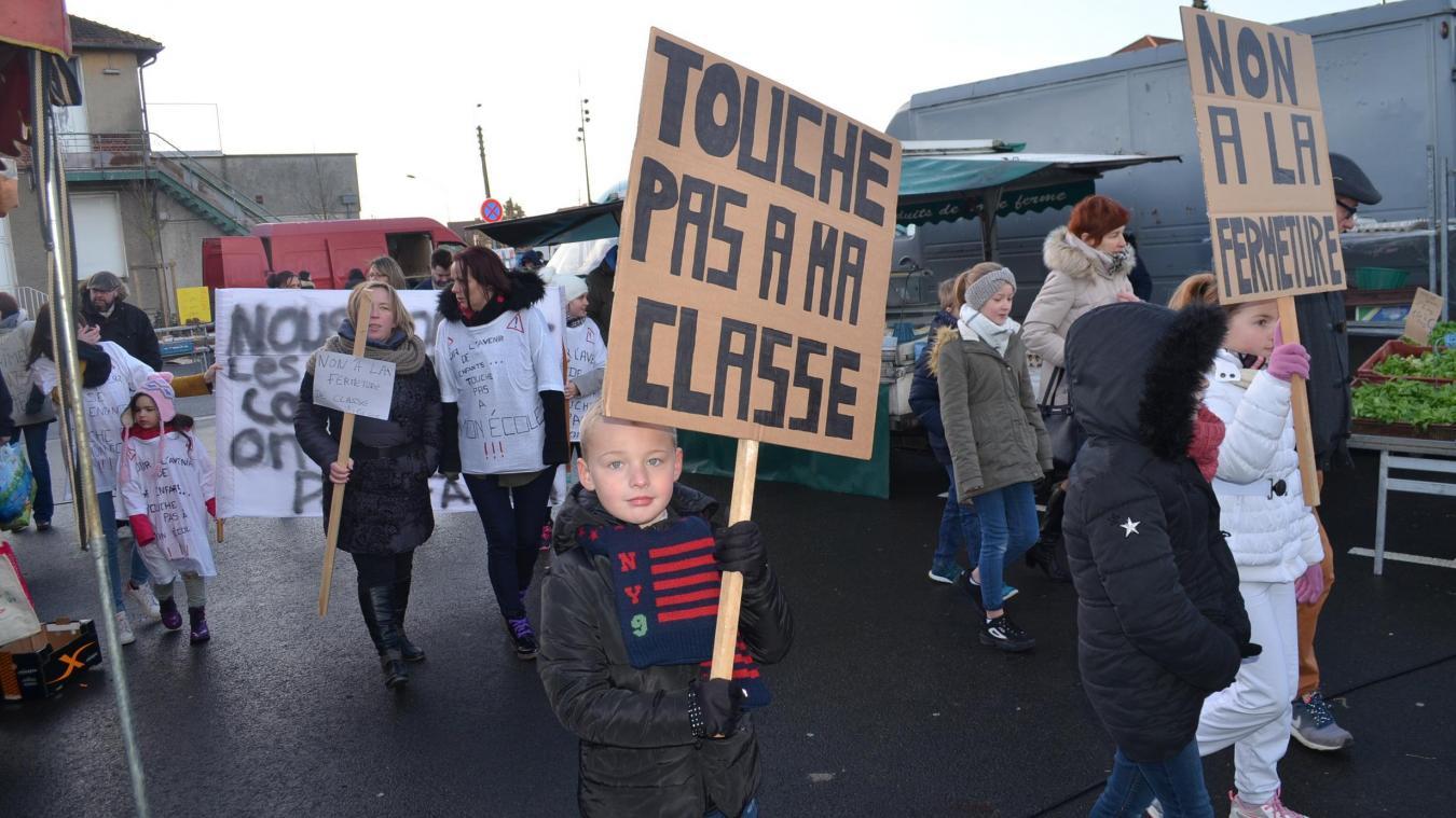 Malgré la mobilisation des parents d'élèves, la fermeture de classe a bien été actée.