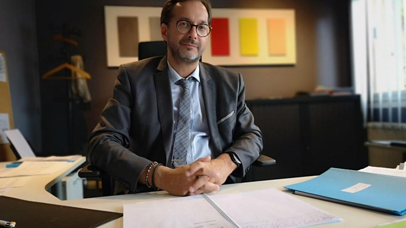 Fabrice Ciesielski proviseur adjoint au lycée Henri Darras de Liévin.
