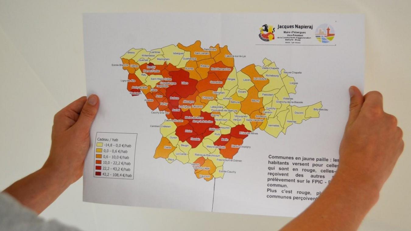Jacques Napieraj a réalisé ses propres cartes en fonction de différents critères pour mieux comprendre la situation.