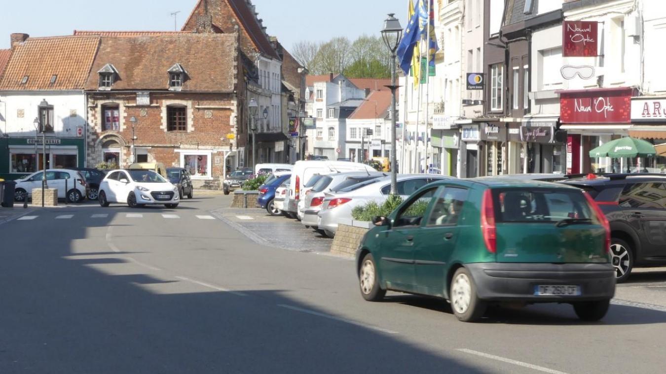 À l'origine de la course-poursuite, une voiture volée à Lillers.