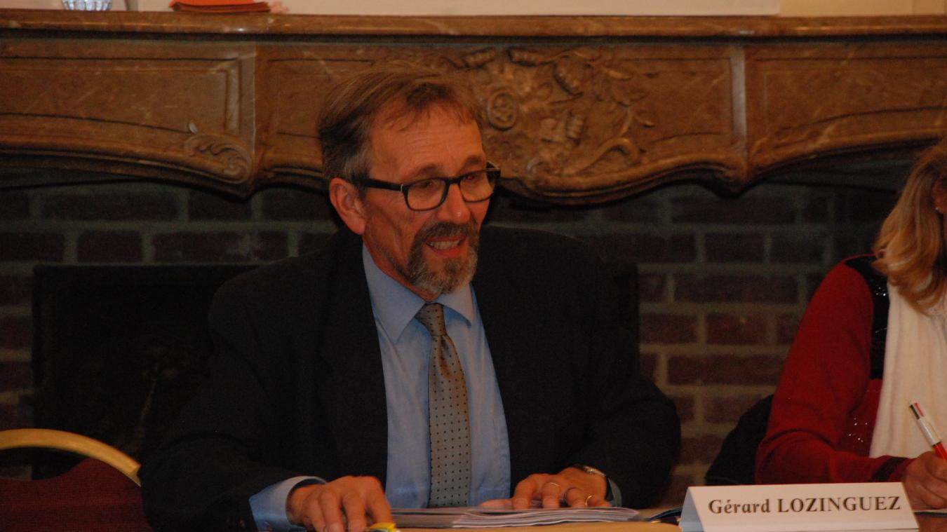 Gérard Lozinguez veut apporter la sérénité pour retrouver la confiance des Hesdinois.