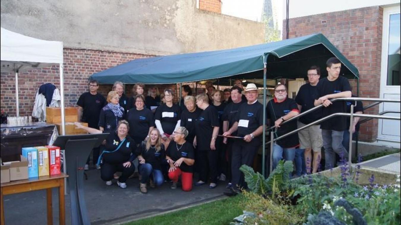 Il faut environ 150 bénévoles pour assurer la bonne tenue d'Hazebrouck Ville Ouverte.