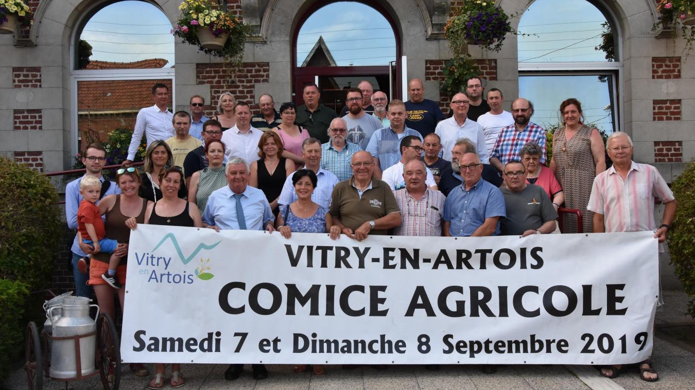 Vitry-en-Artois : le monde agricole en fête