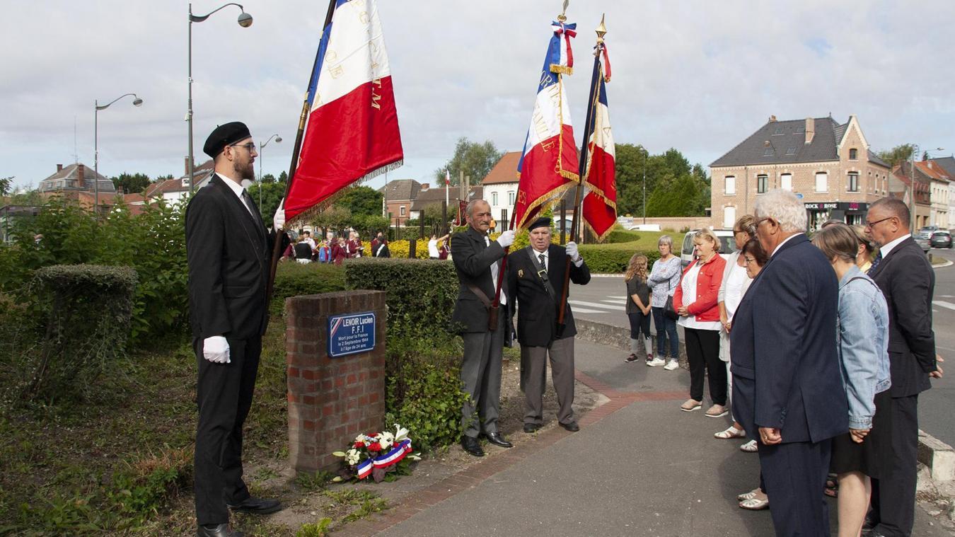 Le dimanche 1er septembre, les édiles et les anciens combattants ont commémoré la Libération.