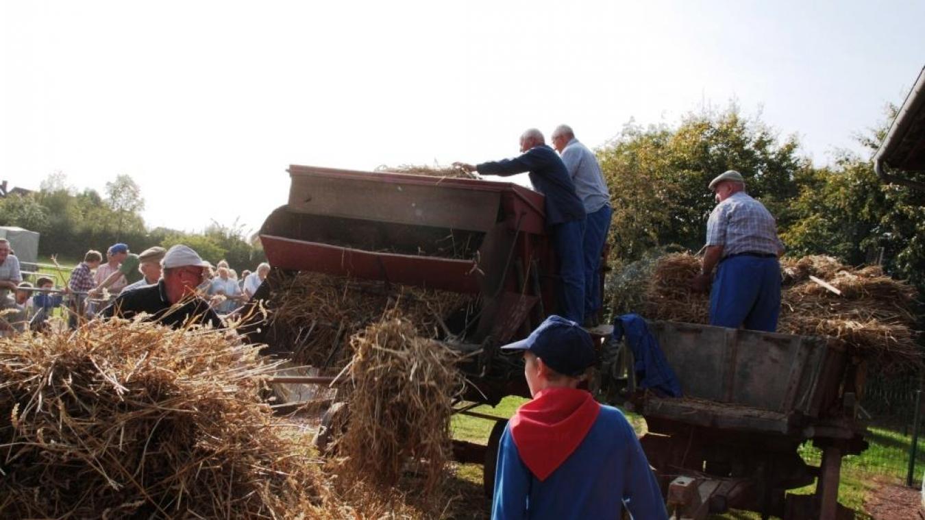 En mettant en action le matériel issu de ses collections, comme le fléau, la batteuse en passant par la bogueuse, c'est toute l'histoire du battage du blé qui sera évoquée par des démonstrations.