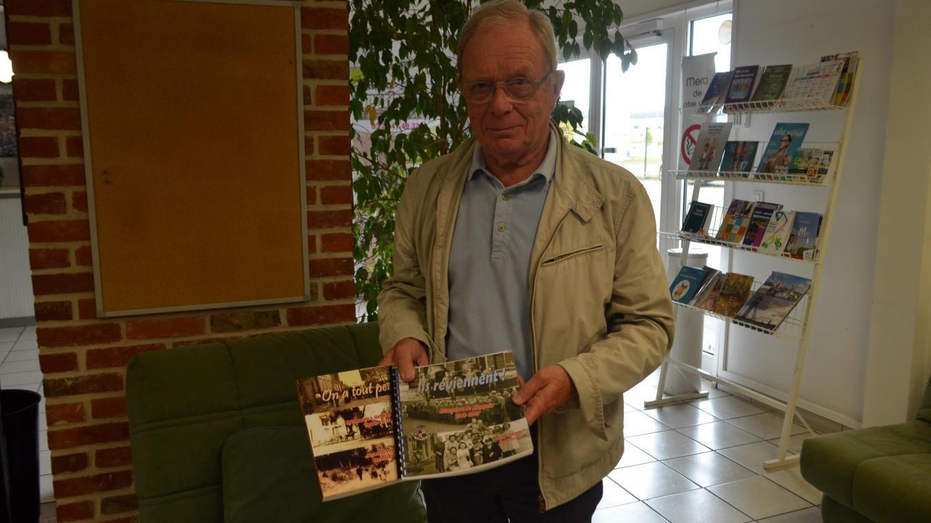 Jean-Claude Delpierre sort un ouvrage dans lequel il a rassemblé des témoignages de Nieppois entre les deux guerres.