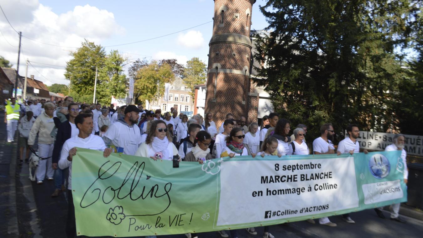 Renescure: des centaines de personnes rendent hommage à Colline (photos)