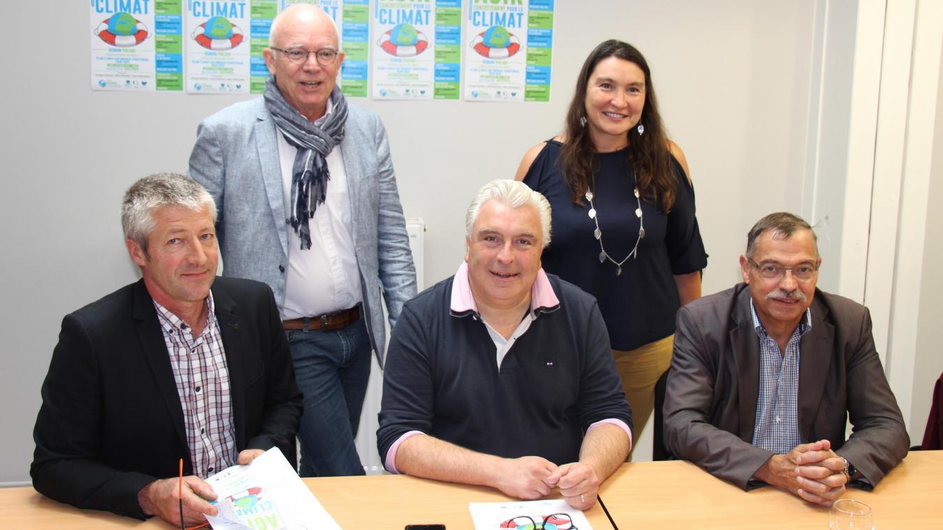 Les trois communautés de communes se sont engagées pour le Plan Climat Air Énergie Territorial (PCAET), à l'échelle du Pays Boulonnais.