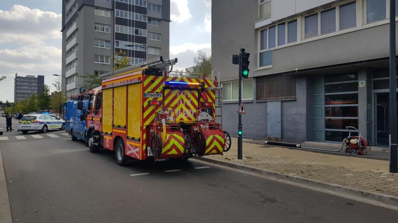 Béthune: les sapeurs-pompiers se déplacent pour un incendie de compteur Linky