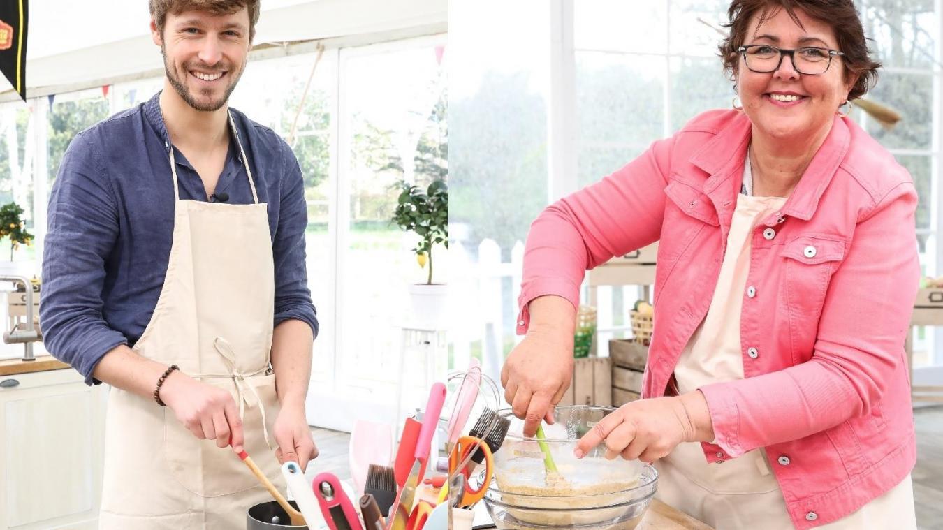 Baptiste de Bailleul et Béatrice de Saint-Jans-Cappel entrent dans la compétition du Meilleur pâtissier sur M6, ce 11 septembre. ©Marie Etchegoyen/M6
