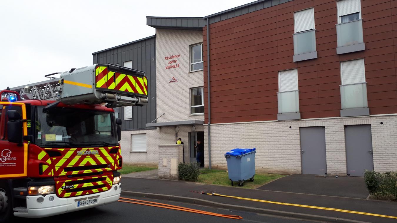 L'intervention des sapeurs-pompiers n'a nécessité aucune évacuation.