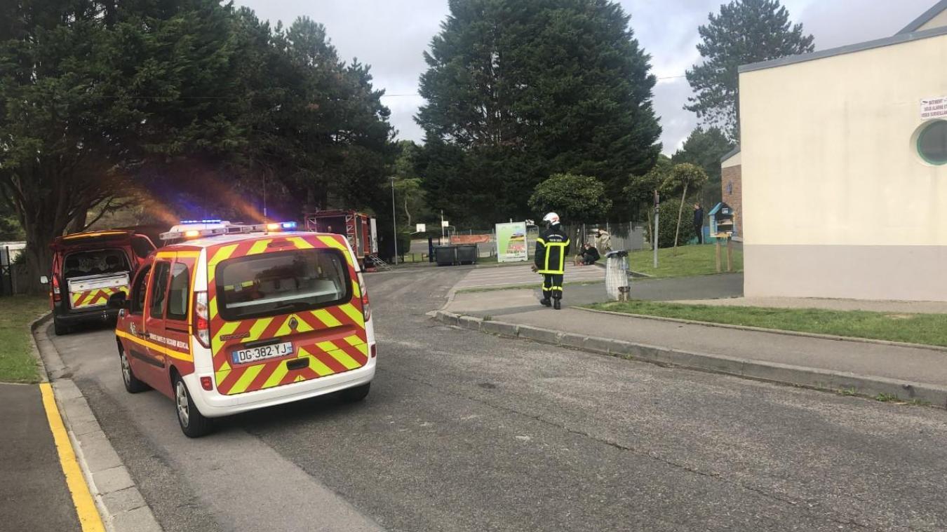 Les pompiers sont intervenus vers 16h à la piscine d'Etaples.