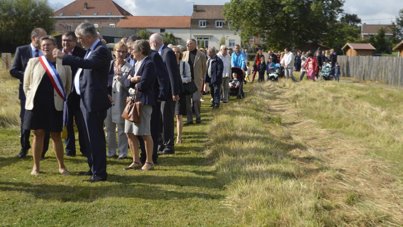 Les jardins partagés imaginés par la municipalité ont été officiellement inaugurés ce samedi 7 septembre.
