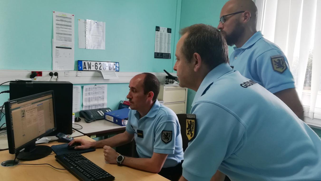 Les gendarmes de Merville sont très actifs sur les réseaux sociaux depuis février 2018. Archives