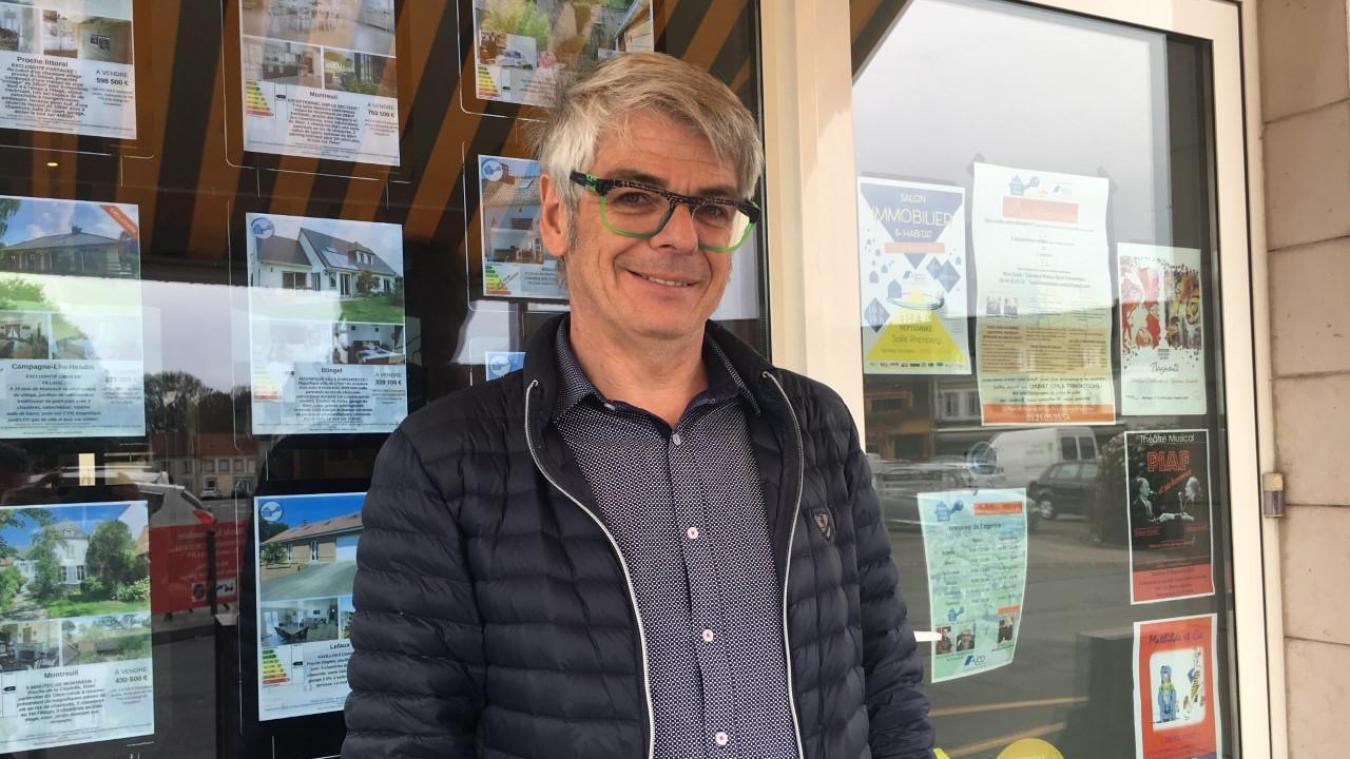 Bruno Pillier est à la tête de l'Agence de la Poste.