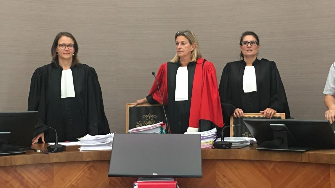 La présidente Vinciane De Jongh a pris la décision de reporter le verdict au lundi 23 septembre.