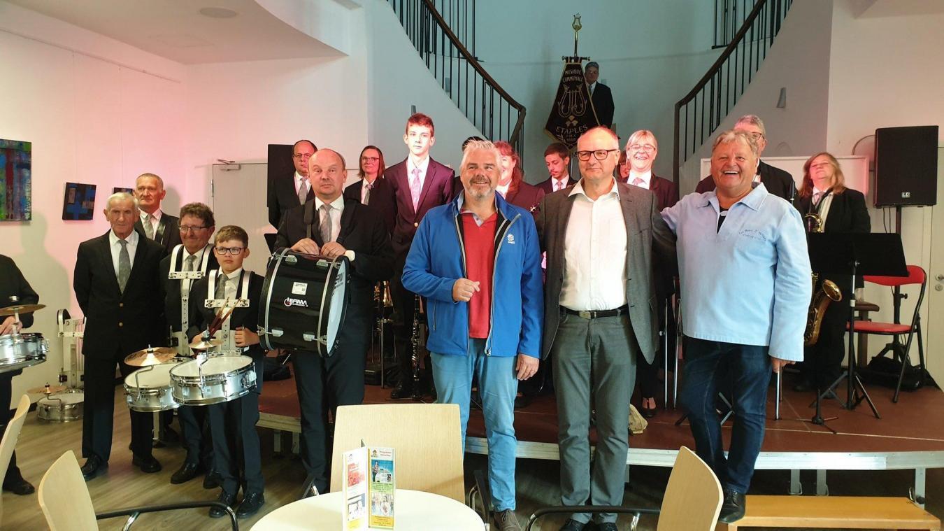 Une partie de la délégation étaploise présente en Allemagne.