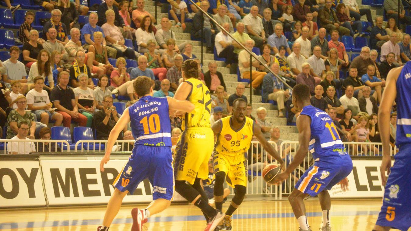 Alexandre Mendy a montré la voie à ses équipiers pour que l'ABBR remporte son premier succès de la saison.