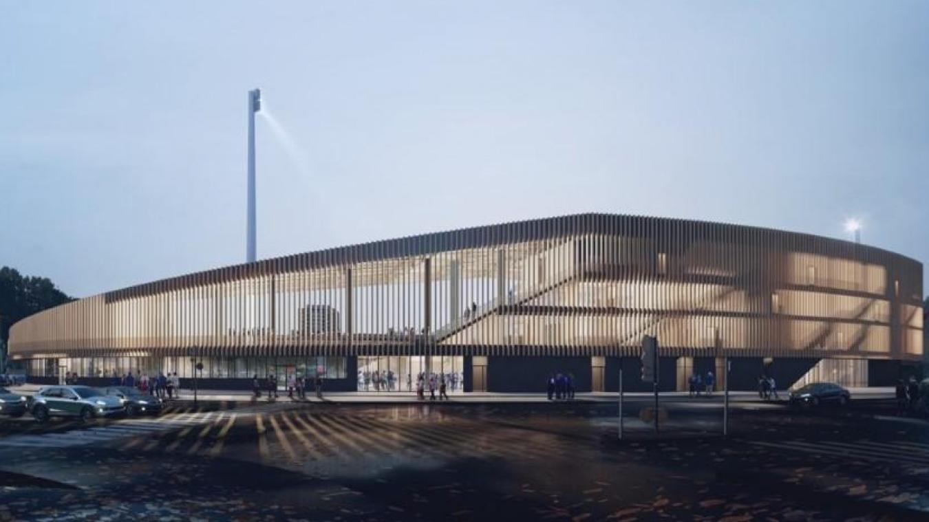 Rénovation du stade Tribut : la tribune Honneur livrée en fin d'année