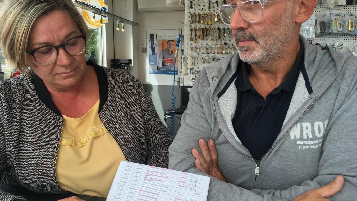 Le couple dunkerquois se retrouvait dans une situation difficile après la perte de 32 000 euros. le remboursement assuré par le Crédit agricole est donc accueilli comme un grand soulagement pour Sabine et David.