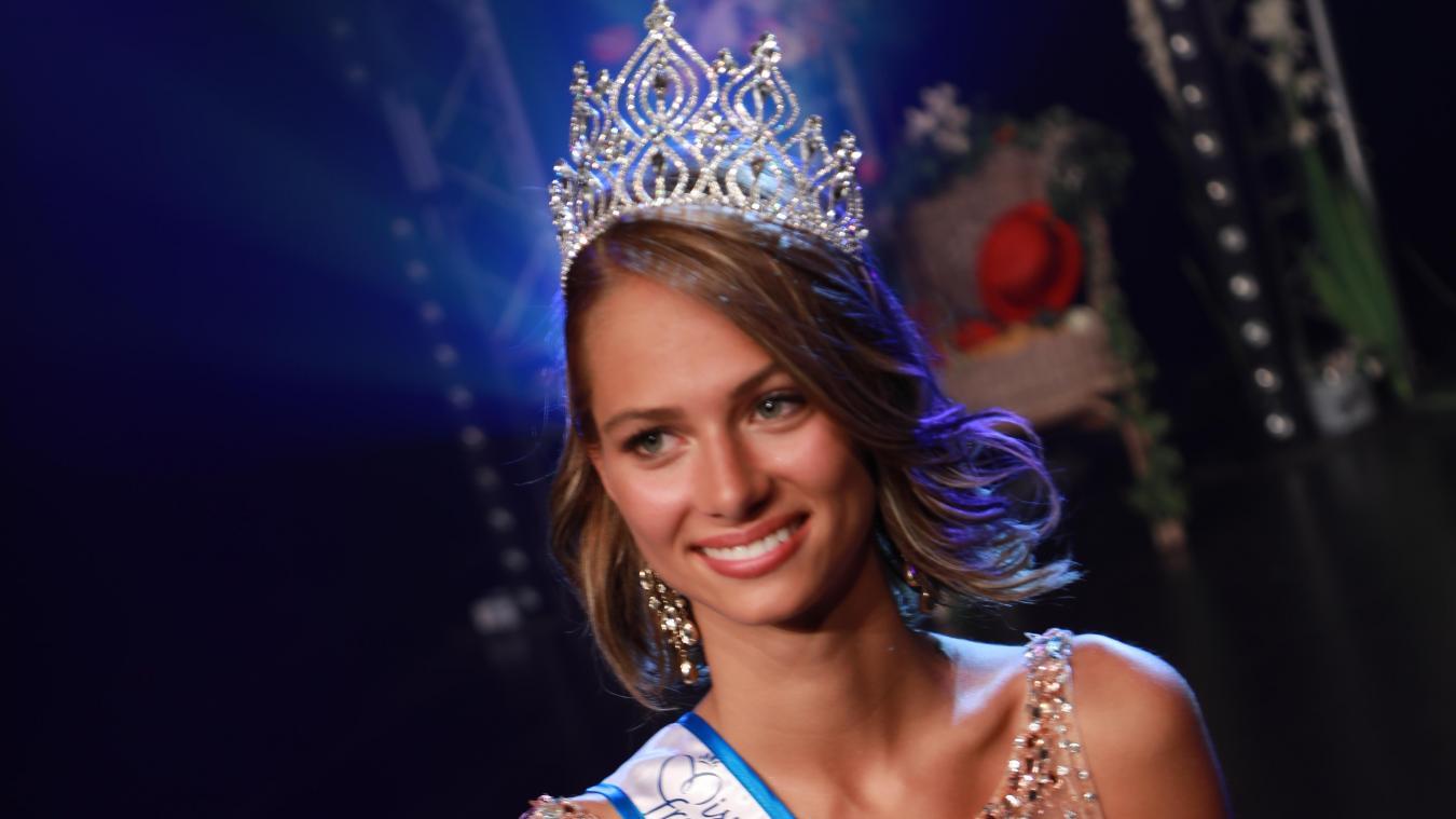 Florentine s'était pourtant, jusque-là, refusée à participer à des concours de miss. (Echo Loon)