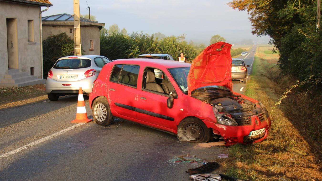 Un jeune chauffeur originaire du hameau de La Calique à Vieil Moutier a perdu le contrôle de son véhicule au sommet d'une côte.