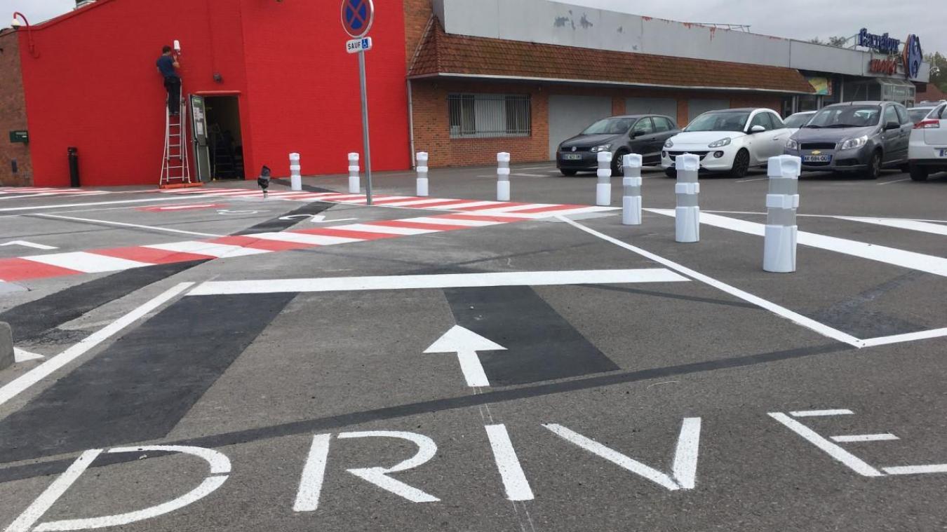 Isbergues : Carrefour Market lance son drive
