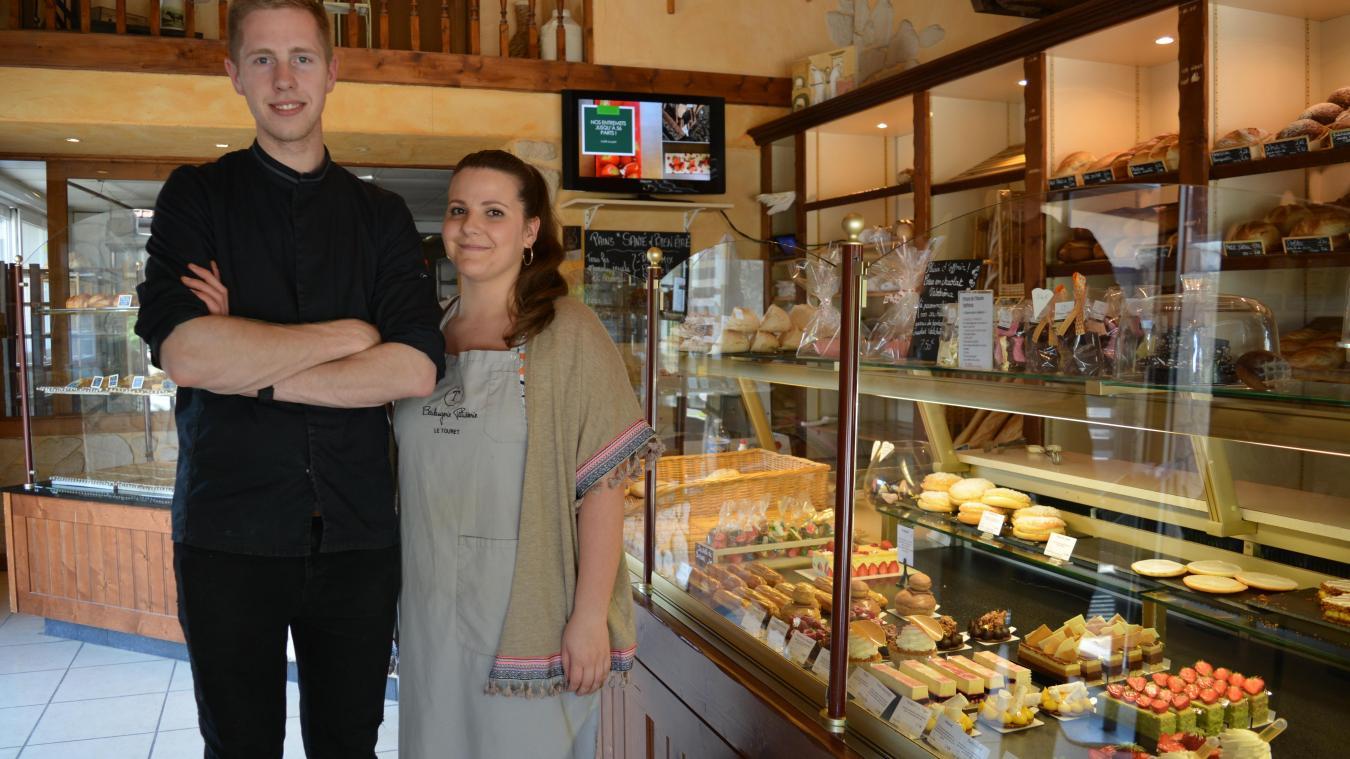 La Couture : le boulanger Simon Huchette, en concours, sur M6