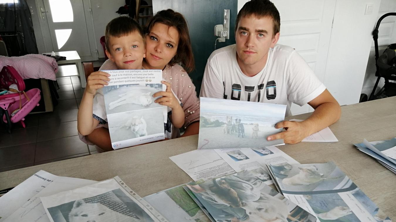 La famille a gardé messages et photos trouvés sur les réseaux sociaux afin de porter plainte pour suspicion de vol auprès de la gendarmerie d'Hazebrouck.