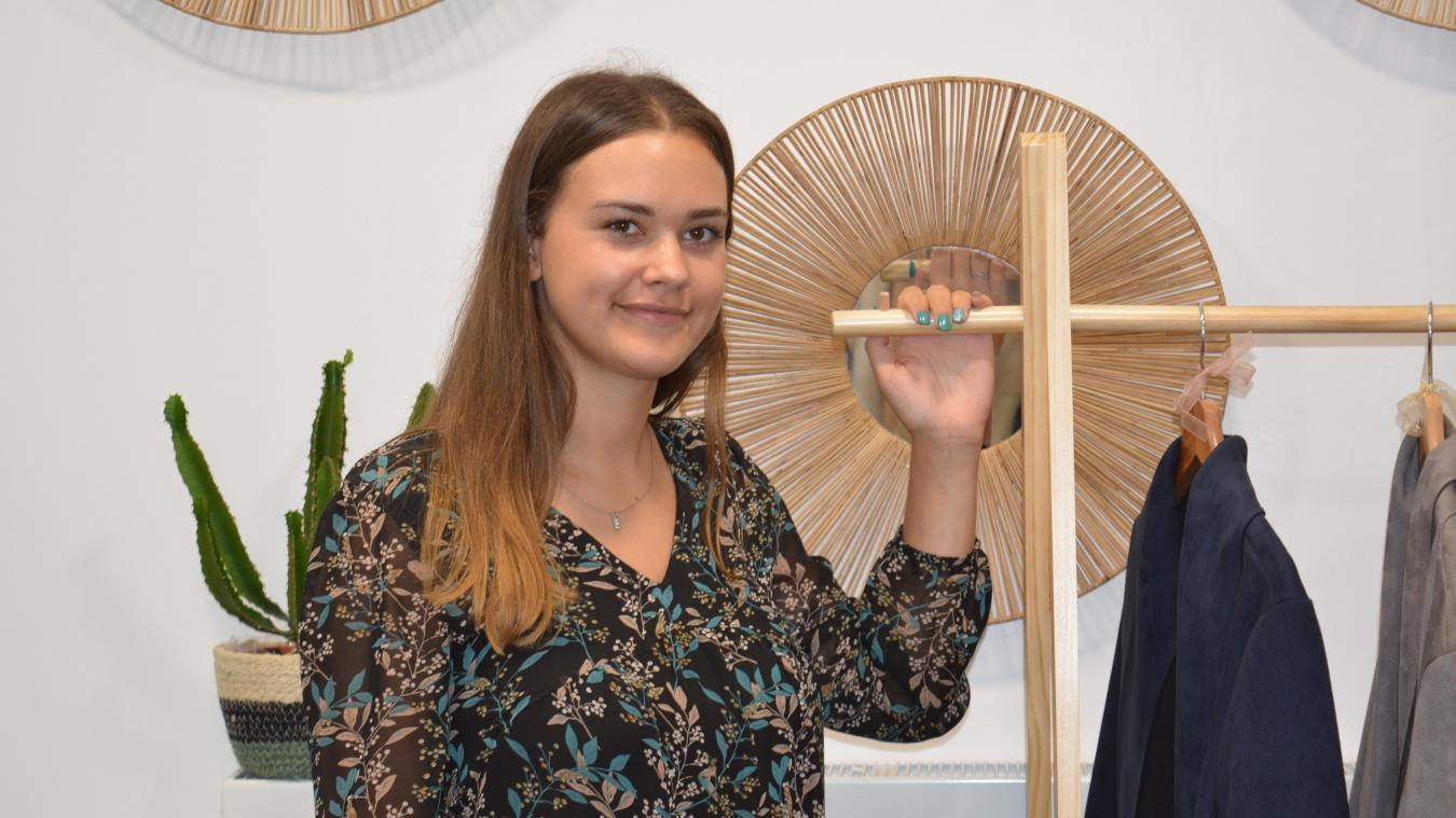 Nœux-les-Mines : à 20 ans, elle ouvre sa première boutique