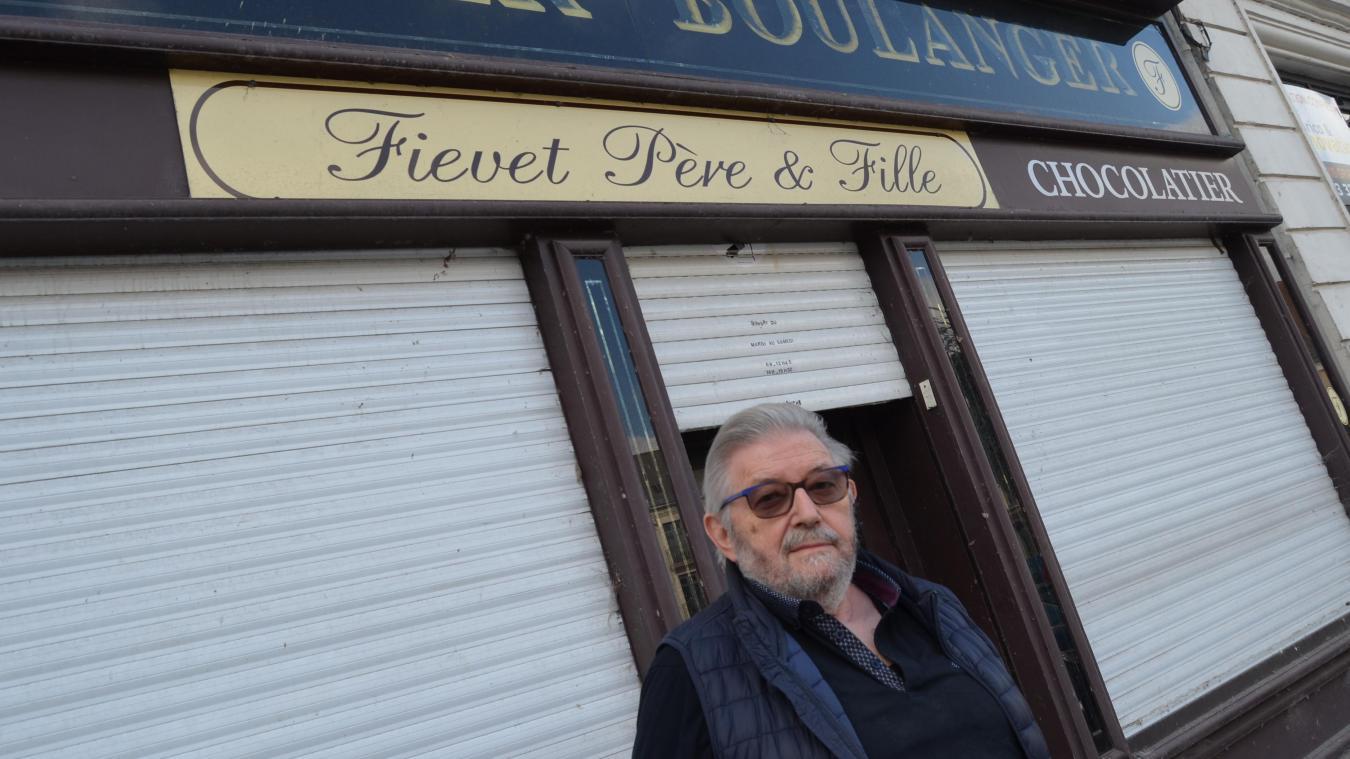 Gérard Fiévet, le boulanger,quitte Aire-sur-la-Lys