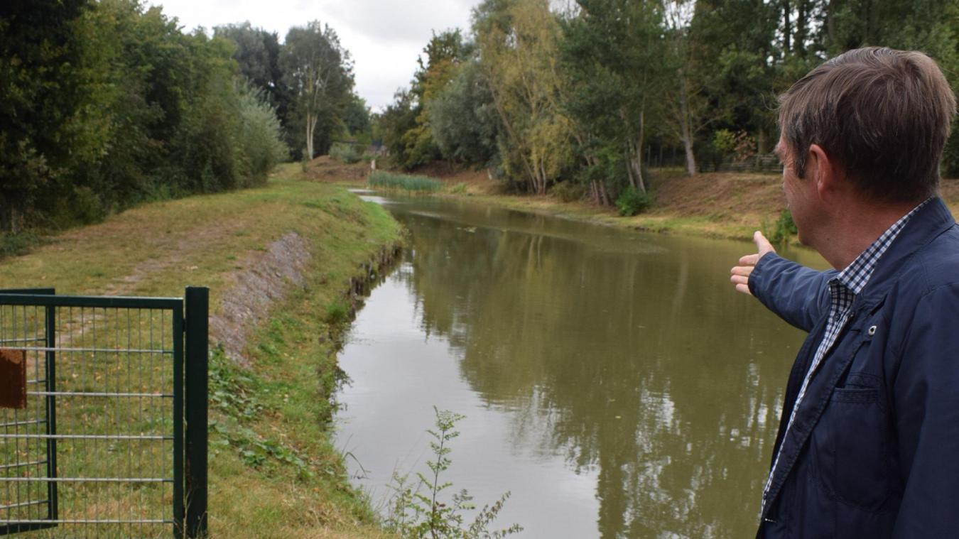 C'est sur le site de l'étang que Didier Roussel, maire, et son conseil ont décidé de réaliser l'aménagement paysager le plus important.