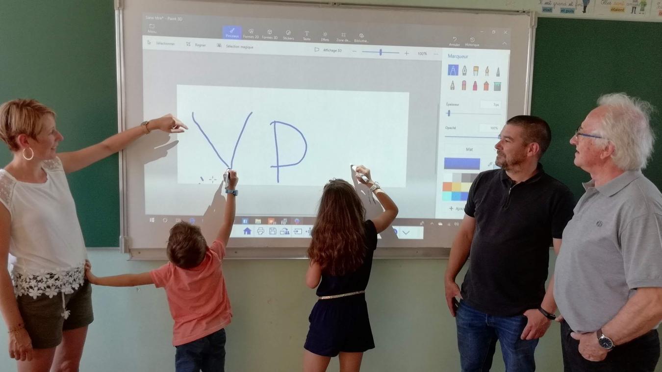 Les cours deviennent plus interactifs et les élèves plus concentrés.