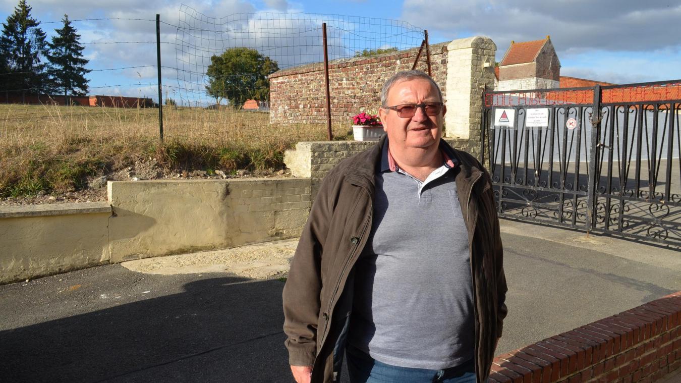 Marcel Pruvost est maire depuis 15 ans. Il ne se représentera pas l'année prochaine.