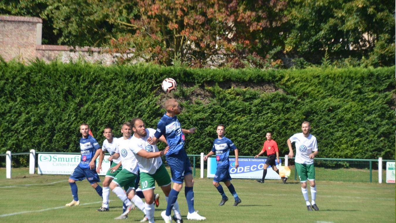 Les Airois se sont qualifiés pour le 4 e  tour de la coupe de France et espèrent l'emporter à Longueau.