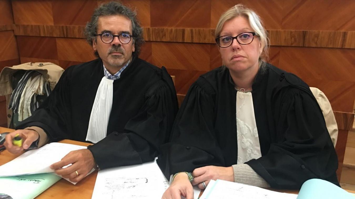 Maître Raphaël Tachon et Maître Nathalie Lesage ont plaidé en faveur des parties civiles ce jeudi 19 septembre après-midi.