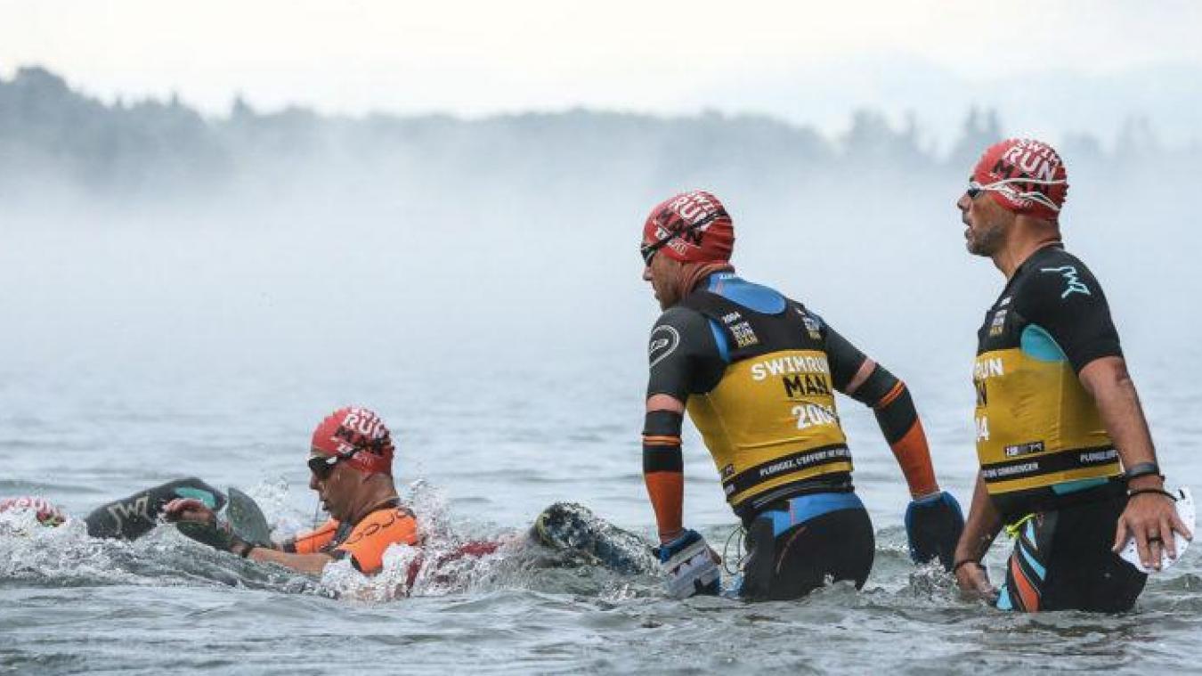 Une épreuve de distance « S » totalisant 8 kms de course à pied entrecoupé de 2 kms de natation, et une seconde épreuve distance « M » cumulant 16 kms de course à pied et 4 kms de natation.
