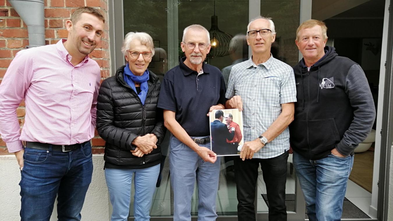 Les amis et anciens collègues de Bernard Gambier lui dédient la prochaine séance de don du sang à Hazebrouck.