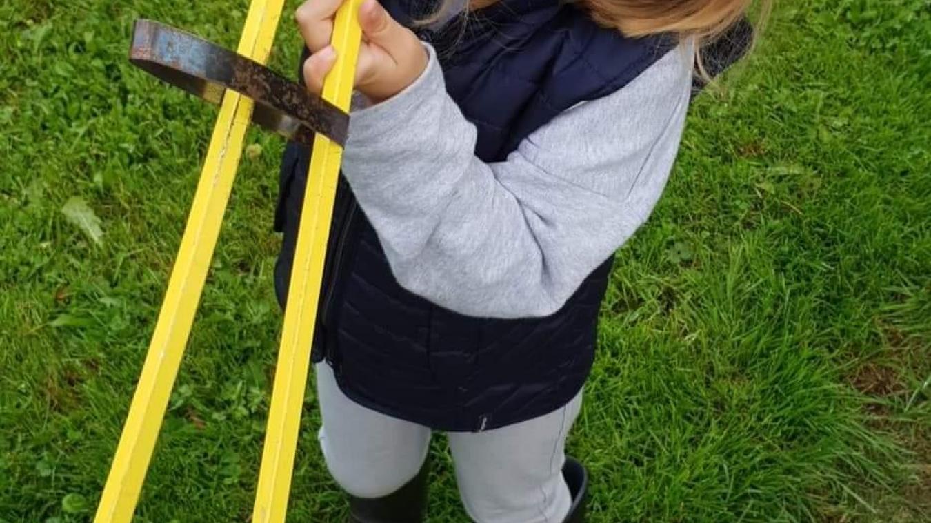 L'an dernier, Clémence et son père Nicolas Margerin ont participé à leur premier World Clean up day.