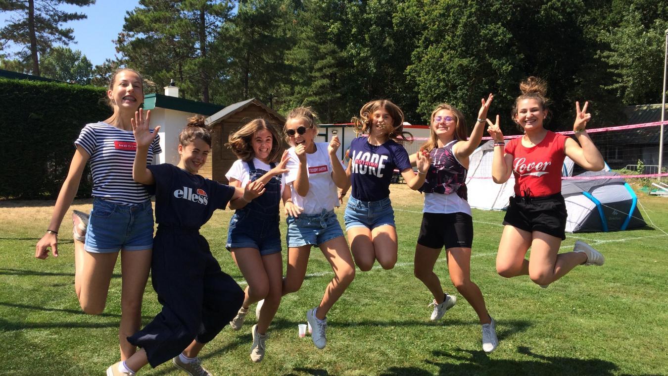 Cet été, les jeunes ont même campé au sein du centre sportif !