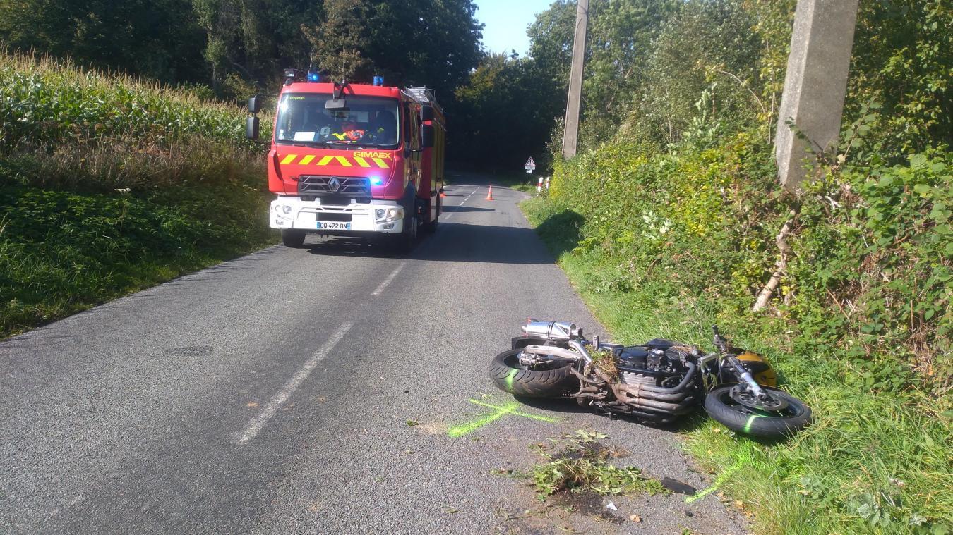 Une motarde de 46 ans a tragiquement perdu la vie sur la départementale reliant Doudeauville à Samer, ce 21 septembre à 14h.