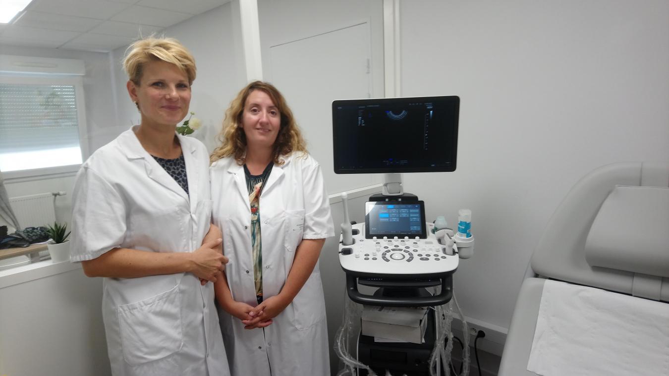 Marion Poleszczuk et Audrey Pereira ont ouvert leur cabinet au sein de la clinique Anne d'Artois.