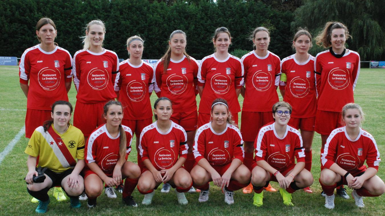Victorieuses au second tour de Méricourt par forfait (les Méricourtoises ne se sont pas déplacées), les féminines hesdinoises retrouvent une équipe de leur groupe de Régionale 2.