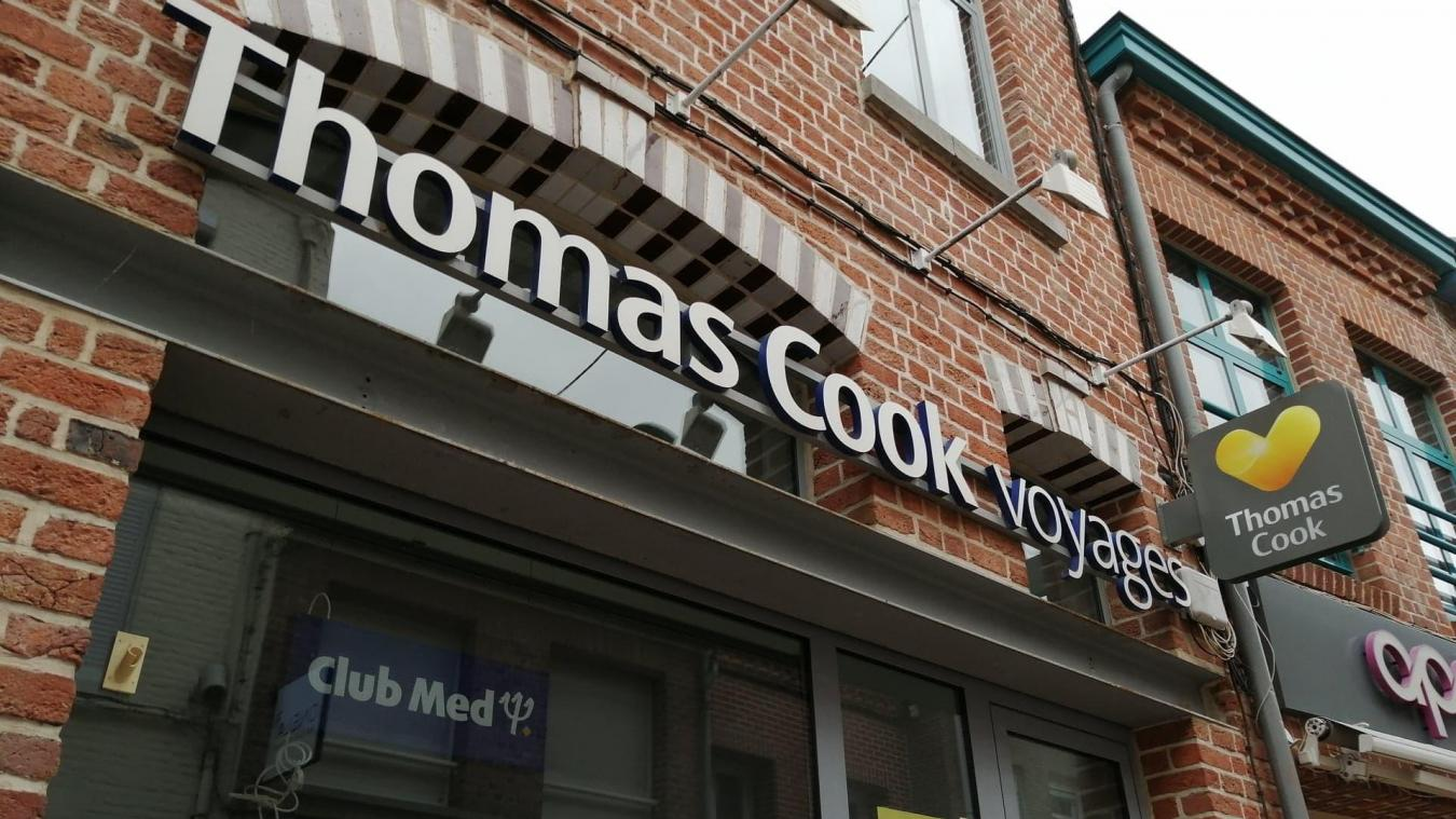 L'agence M Voyages, à Hazebrouck, est affiliée à Thomas Cook. De ce fait, les salariés sont à l'abri de la faillite du voyagiste britannique.