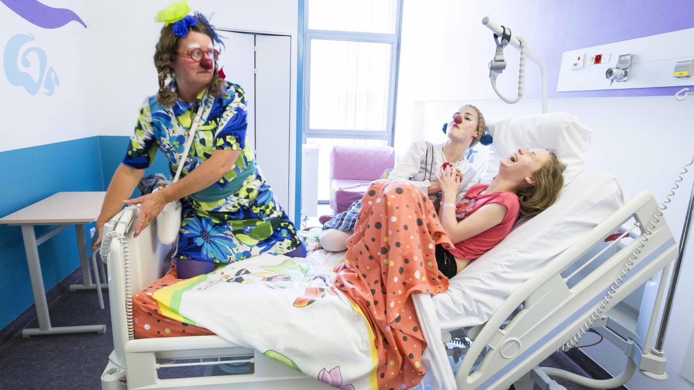 Les Clowns de l'espoir interviennent pour améliorer la qualité des séjours des enfants hospitalisés, notamment à Dunkerque (photo d'illustration). ©Barbara Grossmann
