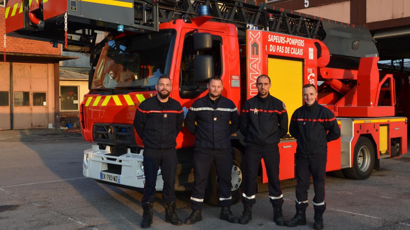 Les quatre pompiers du centre de secours de Boulogne-sur-Mer se sont engagés dans l'aventure du 205 Tropée qui se déroulera du 23 mars au 2 avril 2019, destination le Maroc.